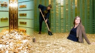 Swim in Your Very Own Money Vault Like Scrooge McDuck