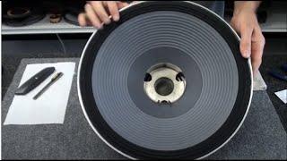 JBL Speaker 2226 Recone Repair Subwoofer