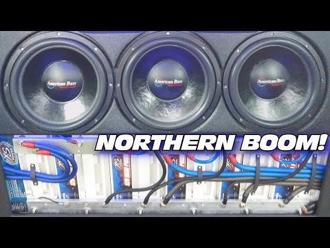 CLEANEST Sound System in The NORTH w 6 15 Subwoofers & Custom Fiberglass Door Speaker Panels