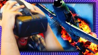 Plane Crash In VIRTUAL REALITY! | Asunder Earthbound VR (Oculus Rift)