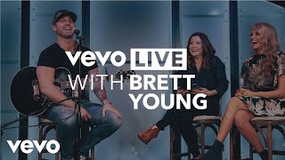 Brett Young - Vevo Live at CMA Awards 2017 - Brett Young Performs Like I Loved You