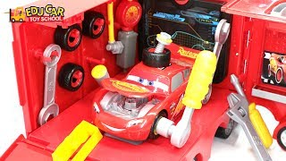 Learning Color Special Disney Pixar Cars Lightning McQueen Mack Truck Play Set for kids car toys