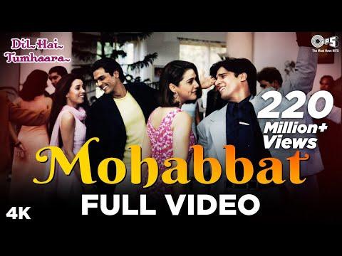 Mohabbat Dil Ka Sakoon Full Song- Dil Hai Tumhaara | Preity, Arjun Rampal, Jimmy & Mahima