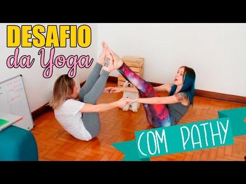 Desafio da Yoga com Pathy dos Reis Gabbie Fadel