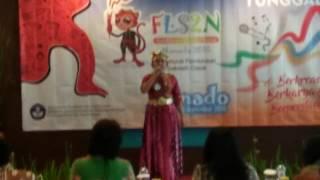 Aline (Aishah Sulthana) - Indonesia Jaya - FLS2N Nasional Manado 2016