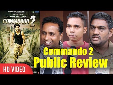 Xxx Mp4 Commando 2 The Black Money Trail Public Movie Review Vidyut Jammwal Adah Sharma Esha Gupta 3gp Sex