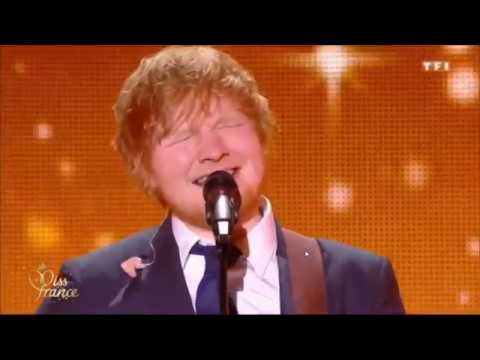 Ed Sheeran - Perfect  (Live in Miss France 2018)