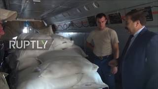 Syria: Russia deliver tons of aid to Hasaka province