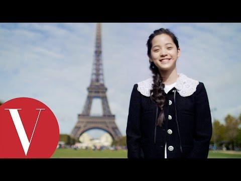 歐陽娜娜 Nana Ou-Yang 與巴黎的美好奇遇│Vogue Taiwan