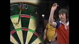 The Slowest Dart Player Ever? - 1985 BDO Dry Blackthorn Cider Masters