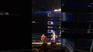 Charlotte Wardrobe Malfunction on Smackdown
