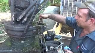 Rotobec grapple, replacing the rotate motor