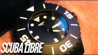 SWATCH SCUBA LIBRE 200M Watch Review   A Swatch with a Rotating Bezel and 200M?!