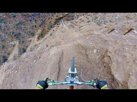 GoPro: Backflip Over 72ft Canyon -
