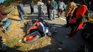 Scary KTM Crashed In India