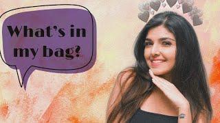 What's in my bag + Top 5 fav lipsticks!   Ashi Khanna