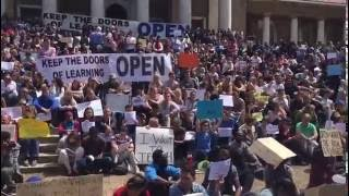 Keep the doors of learning open - silent UCT protesters