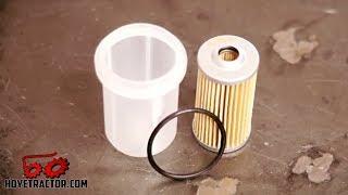 Yanmar Tractor Fuel Filter Replacement & Bleeding