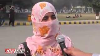 sargodha University Girls talking about police.