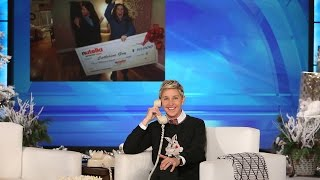 Ellen's Sweet Surprise for a Mother and Daughter