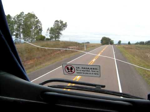 Ruta 5 Rivera en Turil rumbo a Montevideo I