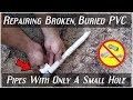 Download Video Download EASILY Repairing Broken PVC Pipes(Least Amount Of Digging) 3GP MP4 FLV