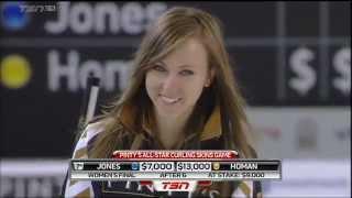 Curling ass Rachel Homan
