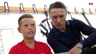 Adlerträger: Niko Kovac trifft Niko Kovac
