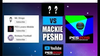 Challenging The Best Pes Mobile YouTuber!!!
