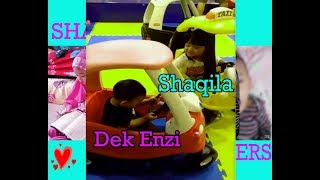 Shaqila Brothers Mandi Bola Lucu - Fun Zone Playground fun for kids