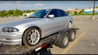 Bought A BMW E46 For $243.00