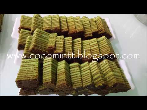 Evergreen Cake/Kek Lapis Evergreen