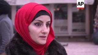 Muslim women mark World Hijab Day in Bosnia