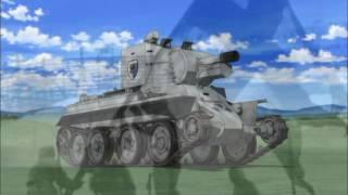 Girls Und Panzer - AMV - Keizoku - Säkkijärven Polkka