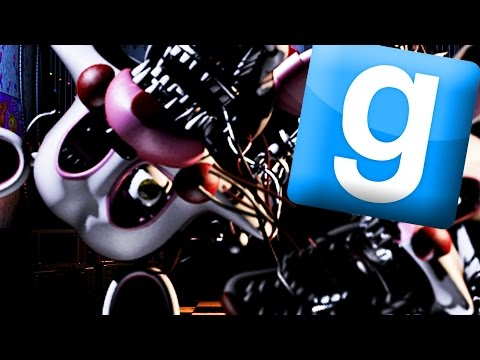 Gmod Five Nights At Freddy's 2 - MANGLE THE MANGLED (Garry's Mod)