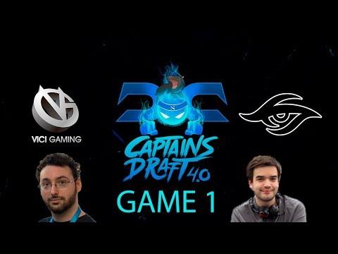 Captains Draft 4.0 - Vici Gaming vs. Secret Game 1