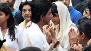 Shahrukh Khan @ Priyanka Chopra's Father's Funeral !