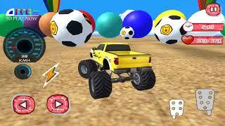 Disney Car Superhero Stunt -  Rhymes For Children - Mainan Mobil Mobilan Anak anak