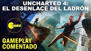 Uncharted 4 - Gameplay de la campaña