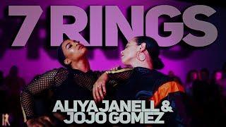 7 Rings | Ariana Grande | Aliya Janell & Jojo Gomez collab | #QueensNLettos #QueenNQueen