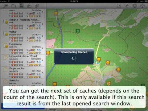 Looking4Cache - HowTo - Search caches from geocaching.com