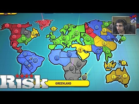 WORLD WAR 4 RISK FACTIONS with The Pack Risk Game 4