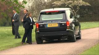 Raw: Obamas' UK Visit Includes Birthday Lunch