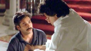 A Heart touching Father And Son Relationship Scene - Suswagatham - Pawan Kalyan, Devayani