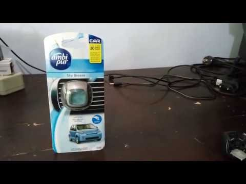 Ambi Pur Car Parfume Mini - Review Indonesia