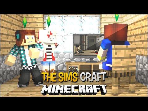 The Sims Craft Ep.47 Video Game e Maior Susto da Minha Vida Minecraft