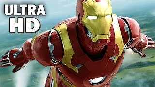 [ULTRA HD 4K] CAPTAIN AMERICA Civil War TRAILERS Compilation (2016)