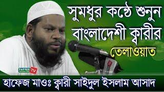 Beautifull Quran Telawat of Hafez Kari Mawlana Saidul Islam Asad