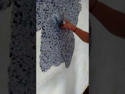 Aplicação papel de parede líquido Eckotex
