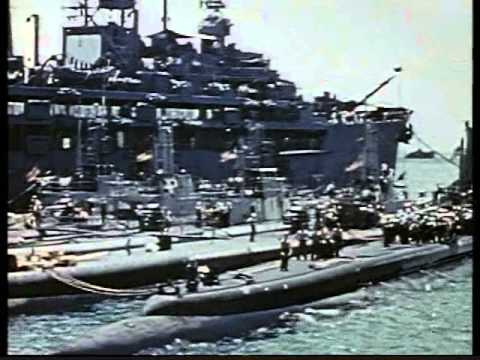 World War II Submarine Warfare rare footage